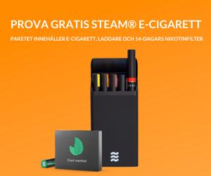 e-cigarett startpaket fra Steam.